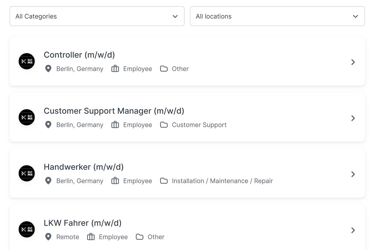 preview of join job widget