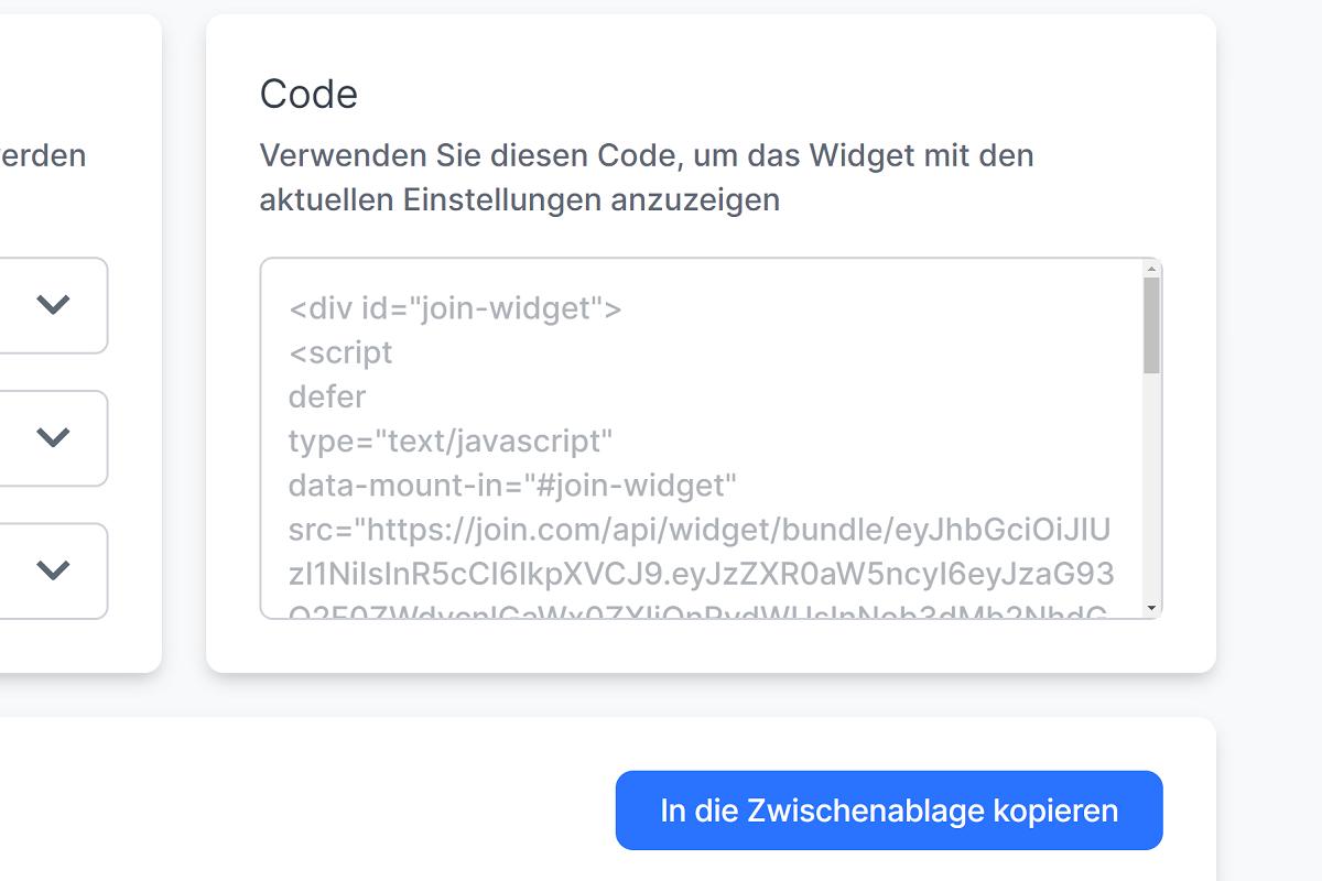 screenshot zum quellcode kopieren