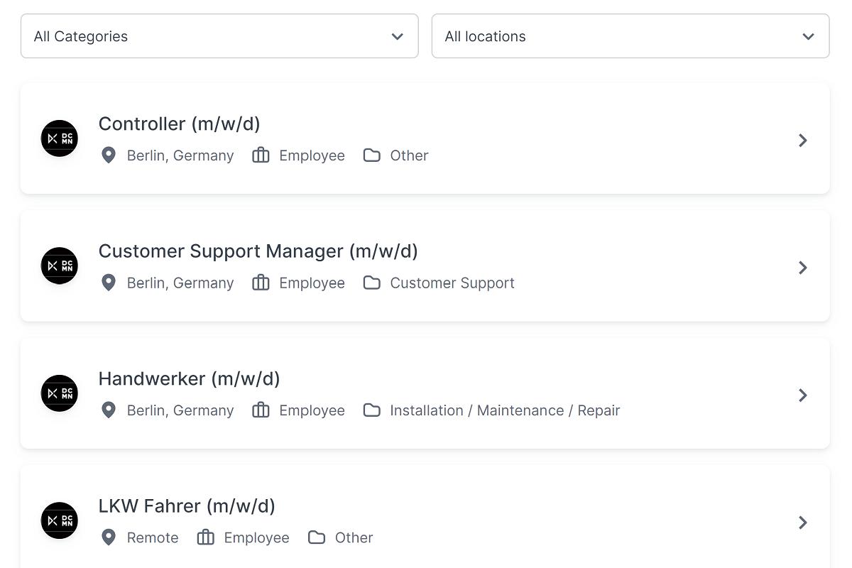 vorschau join job widget